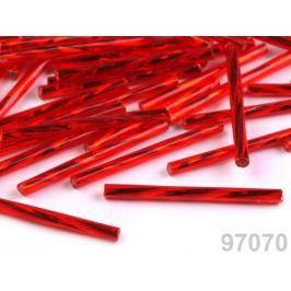 Rokajl Preciosa točené tyčky  30 mm strieborná 20g