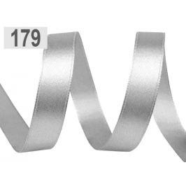 Atlasová stuha šírka 10 mm šedá najsv. 22.5m Stoklasa