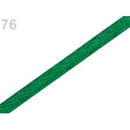 Atlasová stuha šírka 3 mm zelená irská 30m Stoklasa