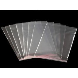 Celofánové sáčky s lepiacou lištou 16x16 cm Transparent 100ks Stoklasa