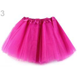 Karnevalová suknička pink 1ks Stoklasa