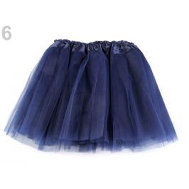 Karnevalová suknička modrá parížska 1ks Stoklasa
