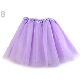 Karnevalová suknička najsvetlejšia fialová 1ks Stoklasa