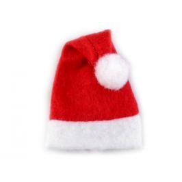 Mini vianočná čiapka červená 5ks Stoklasa