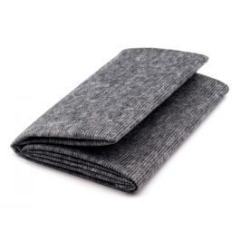 Netkaná textilie  90x100cm nažehlovacia prešitá šedá KARINA šedá 5ks
