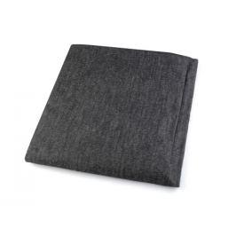 Rašlovka šírka 150 cm nažehlovacia tuhšia čierna 1m Stoklasa