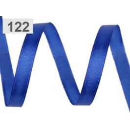 Atlasová stuha zväzky po 5 m šírka 6 mm modrá královská 5m Stoklasa