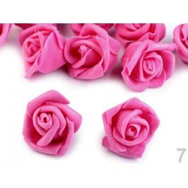 Dekorácia penová ruža Ø4 cm ružová 10ks Stoklasa
