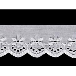 Madeira - štykovanie šírka 50 mm biela 13.5m Stoklasa