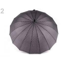 Pánský vystreľovací dáždnik šedá popol 1ks Stoklasa