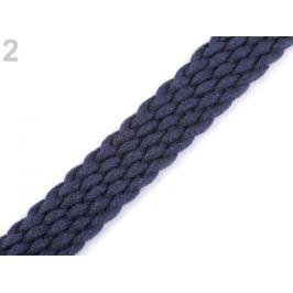 Splietaný popruh na uchá šírka 20 mm modrá parížska 5m Stoklasa