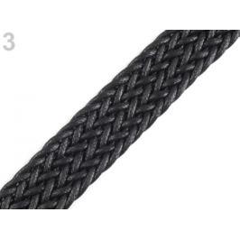 Splietaný popruh šírka 25 mm čierna 1m Stoklasa