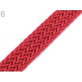 Splietaný popruh šírka 25 mm červená 1m Stoklasa