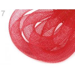 Dekoračná dutinka k aranžovaniu Ø10 mm červená 25m Stoklasa