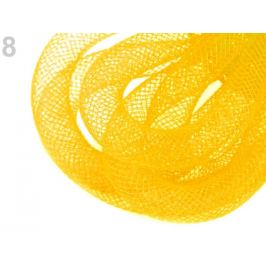 Dekoračná dutinka k aranžovaniu Ø10 mm žltá 25m Stoklasa