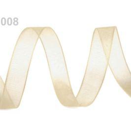Monofilová stuha zväzky po 5 m šírka 20 mm vanilková 5m