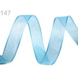 Monofilová stuha zväzky po 5 m šírka 20 mm modrá detská 5m