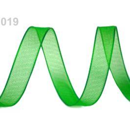 Monofilová stuha zväzky po 5 m šírka 20 mm zelená irská 5m