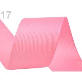 Rypsová stuha zväzky po 5 m šírka 40 mm staroružová sv. 5m