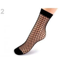 Sieťované ponožky čierna 1pár Stoklasa