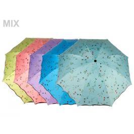 Dámsky skladací dáždnik modrá ľadová 1ks Stoklasa