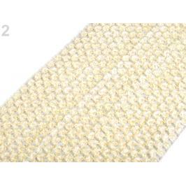 Sieťovaná guma šírka 15 cm tutu krémová najsvetl 1m Stoklasa