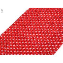 Sieťovaná guma šírka 15 cm tutu malinová 1m Stoklasa