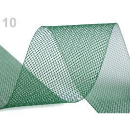 Modistická krinolína na vystuženie šiat a výrobu fascinátorov  šírka 5 cm zelená jedla 41m Stoklasa