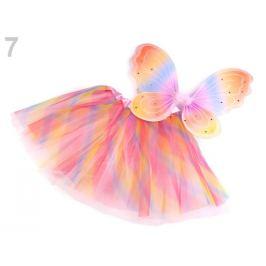 Karnevalový kostým - motýľ multikolor 1sada Stoklasa