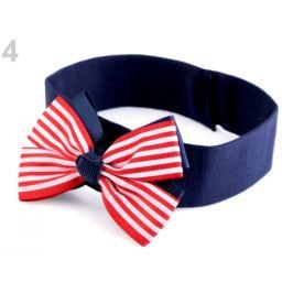 Detská elastická čelenka do vlasov námornícka modrá parížska 1ks Stoklasa