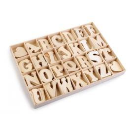 Samolepiace drevené písmená v krabici buk 1krab. Stoklasa