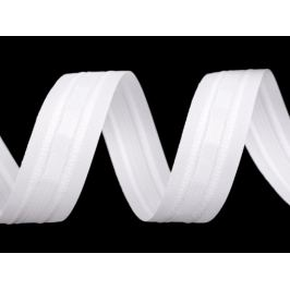 Záclonovka 2 skladová šírka 25 mm biela 50m