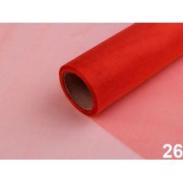 Organza / stuha šírka 14,5 cm červená 9m Stoklasa