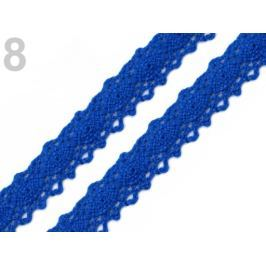 Čipka / vsádka paličkovaná šírka 12 mm Dazzling Blue 27m Stoklasa