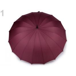 Veľký rodinný dáždnik ružovofialová 1ks Stoklasa