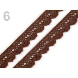 Čipka bavlnená šírka  15 mm paličkovaná Aztec 27m Stoklasa