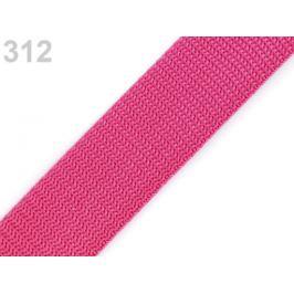 Popruh polypropylénový šírka 30 mm typ BX ružová 5m