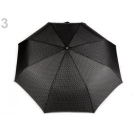 Dámsky skladací dáždnik šedá 1ks Stoklasa