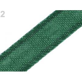 Jutová stuha šírka 35 mm zelená jedla 13.5m Stoklasa