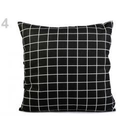 Obliečka na vankúš 43x43 cm čierna 1ks Stoklasa