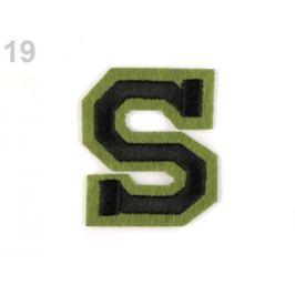 Nažehlovačka písmená zelená 1ks Stoklasa