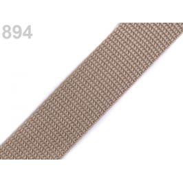 Popruh polypropylénový šírka 25 mm typ BX modrá tyrkys. 1m