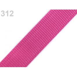 Popruh polypropylénový šírka 25 mm typ BX modrá kobaltová 1m
