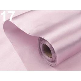Satén jednostranný šírka 36 - 37 cm fialková sv. 90m