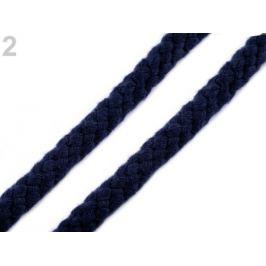 Odevná šnúra na vak Ø10 -12 mm splietaná modrá parížska 9m Stoklasa