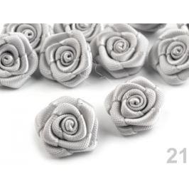 Textilná ružička Ø15 mm Vaporous Gray 10ks Stoklasa