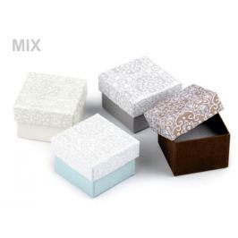Krabička 5x5 cm mix variant 4ks Stoklasa