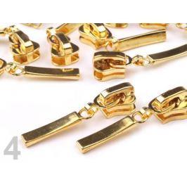 Bežec ku kosteným zipsom 5mm ozdobný zlatá 500ks Stoklasa