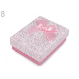 Krabička 7x9 cm ružová str. 4ks Stoklasa