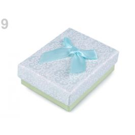 Krabička 7x9 cm zelená sv. 4ks Stoklasa